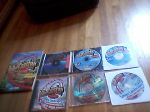 All RollerCoaster Tycoon PC games (1, 2, 3, expansions)