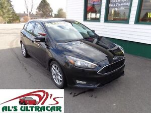 2015 Ford Focus SE Hatchback only $99 bi-weekly all in!