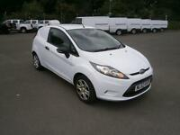 Ford Fiesta 1.4 TDCI 70ps Van DIESEL MANUAL WHITE (2012)