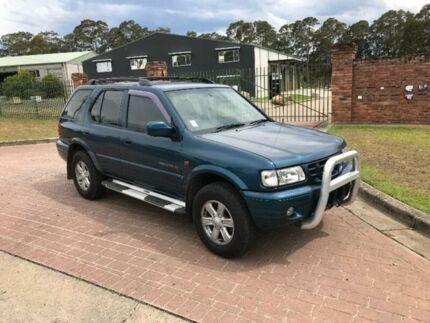 2000 Holden Frontera MX SE Green Automatic Wagon
