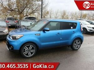 2019 Kia Soul EX PREMIUM; PANO ROOF, LEATHER, HEATED SEATS/WHEEL