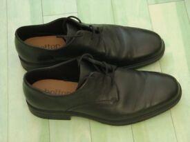 Hotter Black Mens Shoes