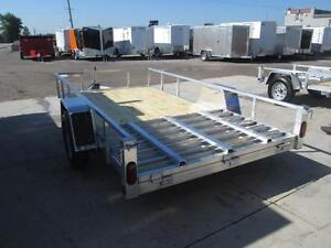 Low priced aluminum trailers - 2017 Qaulity 5 x 10 utility trail London Ontario image 4