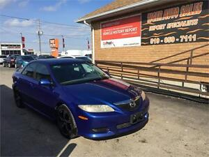 2004 Mazda Mazda6**5 SPEED**AFTERMARKET RIMS****AS IS SPECIAL***