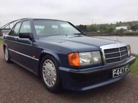 1988 F MERCEDES-BENZ 190 2.0 E 4D AUTO 122 BHP