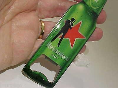 Heineken Brewery Beer Pilsener James Bond 007 Spectre Magnetic Opener Mint Seald