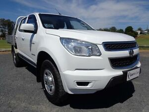 2013 Holden Colorado RG MY13 LX White Auto Sports Mode 4D Cab Chassis Erina Gosford Area Preview