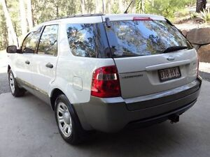 2004 Ford Territory SX TX (RWD) White 4 Speed Auto Seq Sportshift Wagon Willow Vale Gold Coast North Preview