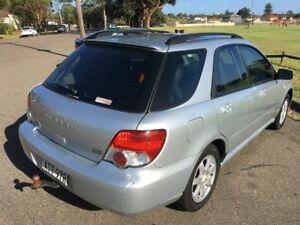 2005 Subaru Impreza GX Luxury (AWD) Silver 5 Speed Manual Hatchback