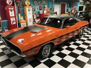 Dodge Challenger promotionnel car 1970