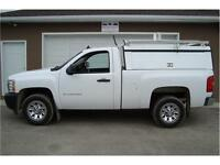 2011 CHEVY LS 1500 SHORTBOX 2WD SERVICE TOPPER 79K ONLY $13,900.