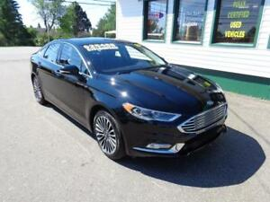 2017 Ford Fusion SE AWD for only $196 bi-weekly all in!