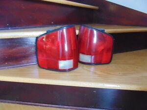 Feux arrière rouge pour pick-up s-10
