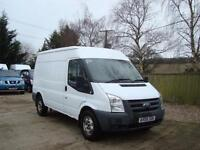2009 FORD TRANSIT 2.4 TDCI T350M MWB High Roof Panel Van NO VAT