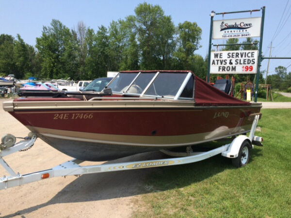 Used 1999 Lund Boat Co 1750 Fisherman