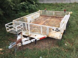 10' x 7 1/2' Tandem Axle Utility Trailer for Sale!