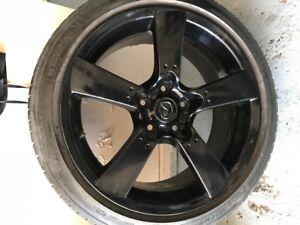 Mags Mazda et pneus 215 / 45 R 18