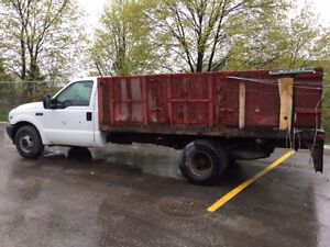 2002 Ford F-350 Pickup Garbage Truck USED AS IS