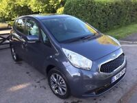 66 PLATE KIA VENGA 3 AUTO BLUE 1591cc CAT D 1,800 MILES ONLY NEW CONDITION INSIDE AND OUT