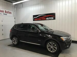 2015 BMW X3 xDrive28i LEATHER/PANORAMIC ROOF/BACKUP CAMERA