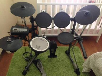 Roland TD-3 Electronic Drum Kit Rostrevor Campbelltown Area Preview