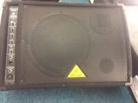 Pair of Behringer Eurolive F1200A Active Monitor Speakers Boxed