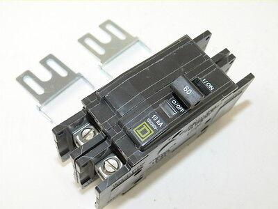 Square D Qou260 2p 60a 120240v Circuit Breaker New 1-yr Warranty