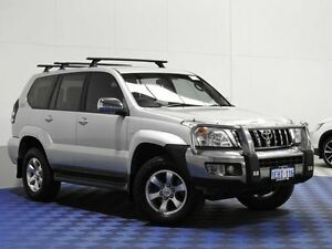 2006 Toyota Landcruiser Prado KZJ120R GXL (4x4) Silver 4 Speed Automatic Wagon Jandakot Cockburn Area Preview
