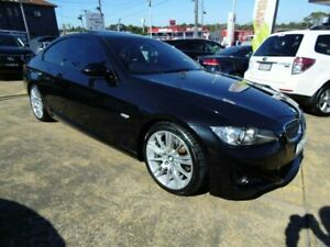 2008 BMW 323i E92 Black 6 Speed Auto Steptronic Coupe Five Dock Canada Bay Area Preview