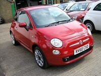 2010 FIAT 500 1.4 SPORT/33,395 MILES WITH SERVICE HISTORY/6 SPEED MANUAL