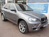 BMW X5 3.0d auto 2007 M Sport S/H £8165 added extras inc Nav etc 1 former keeper