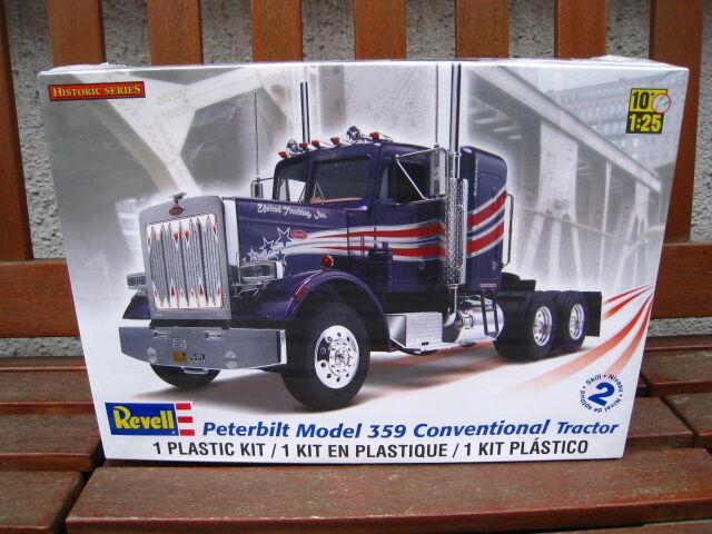 Peterbilt Model 359 Conventional Tractor  Bausatz  Revell  1:25  NEU