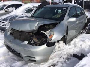 2004 Toyota Matrix just in for parts at Pic N Save!