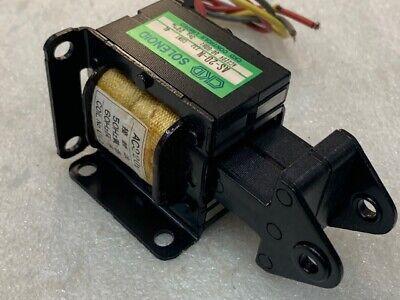 Ckd As-20-n Electromagnet Solenoid Actuator Ac220v 50-60hz 3kg 20mm Stroke New