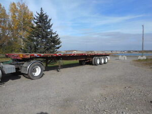 1994 Great Dane 48' Triaxle flatbed