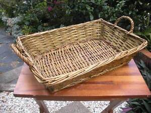 Cane Basket Gold Coloured $4 Albion Brisbane North East Preview