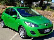 2010 Mazda 2 DE10Y1 MY10 Neo Green 5 Speed Manual Hatchback Littlehampton Mount Barker Area Preview