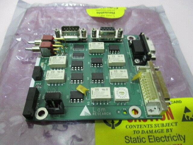 LAM 810-001489-015, Rocker Valve Interface Board, FAB 710-001489-015. 416474