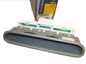 renault twingo i module d 39 affichage des t moins tableau de bord 7700434792 ebay. Black Bedroom Furniture Sets. Home Design Ideas