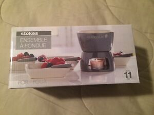 Stokes 11-piece Chocolate Fondue Set