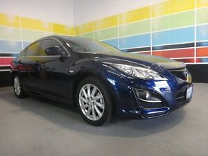 2012 Mazda 6 GH MY11 Touring Deep Blue Metallic 5 Speed Auto Activematic Hatchback Wangara Wanneroo Area Preview