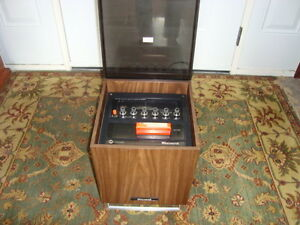 GREAT RETRO 1960'S MUSIC CUBE STEREO WITH 8 TRACK