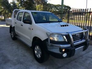 Toyota Hilux 2013 Dual Cab AUTOMATIC with steel tray Seven Hills Blacktown Area Preview