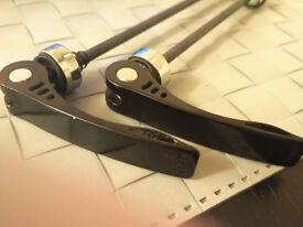 ALUMINUM QUICK RELEASE SKEWERS - PAIR 2 PIECES -FRONT & REAR