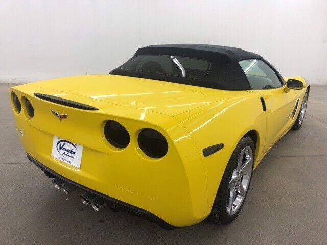 2008 Yellow Chevrolet Corvette     C6 Corvette Photo 9
