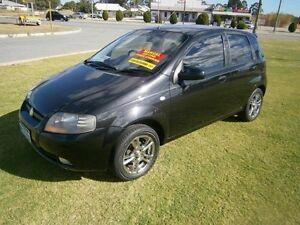 2007 Holden Barina SUPER SPECIAL Low Kilometer Black Manual Hatchback Maddington Gosnells Area Preview