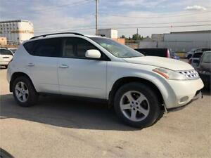 2004 Nissan Murano SL-AWD COMES WITH 3MTH WARRANTY INCLUDED