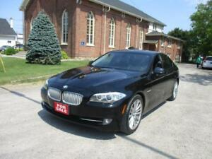2011 BMW 5 Series 550i|BLACK ON BLACK|NAV|LEATHER|CERTIFIED