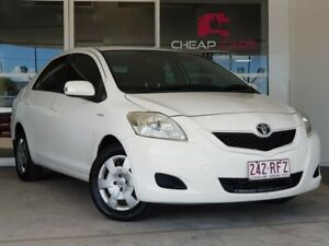 2009 Toyota Yaris NCP93R MY09 YRS White 5 Speed Manual Sedan Brendale Pine Rivers Area Preview