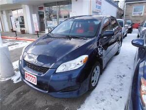 2009 Toyota Matrix Hatch Back  Blue Auto 2.4L Blue 132,000km